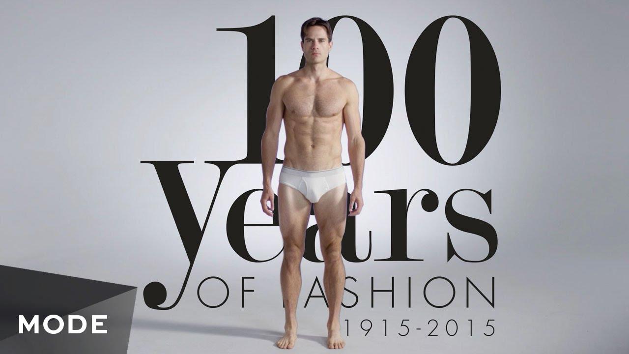 男性のファッション史100年分を3分に凝縮!
