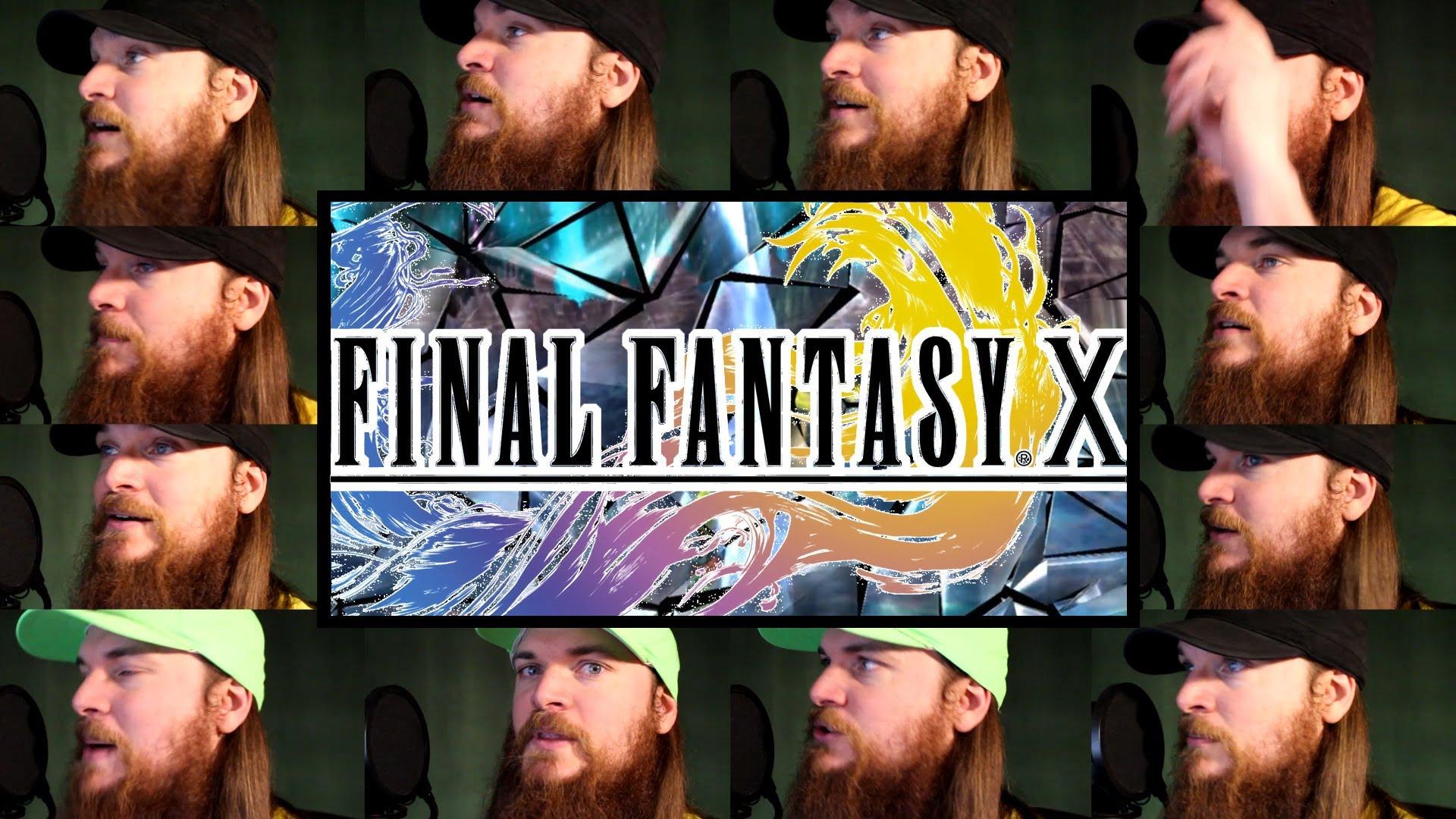 【神技動画】ファイナルファンタジー10の戦闘曲をアカペラで再現!