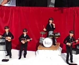 マリオネットなビートルズの演奏がハイクオリティな動画