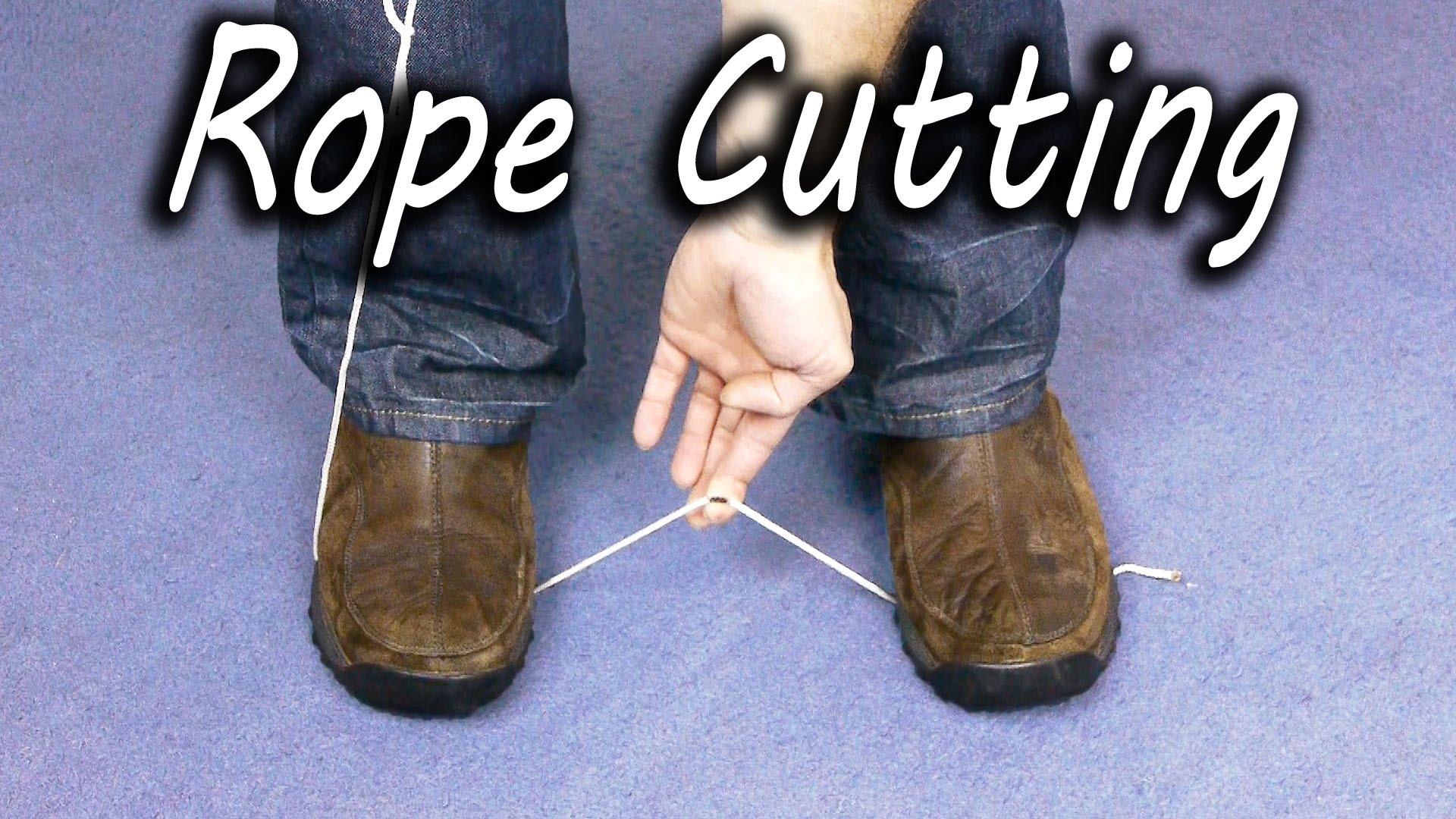 いつか役立つかも!? 刃物を使わずにロープを切る方法
