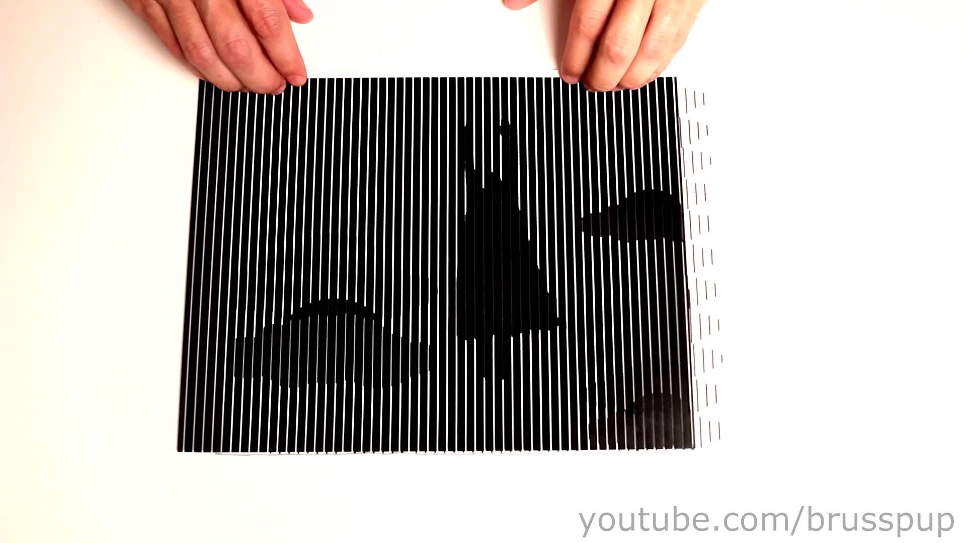 模様を組み合わせると動いて見える錯視動画