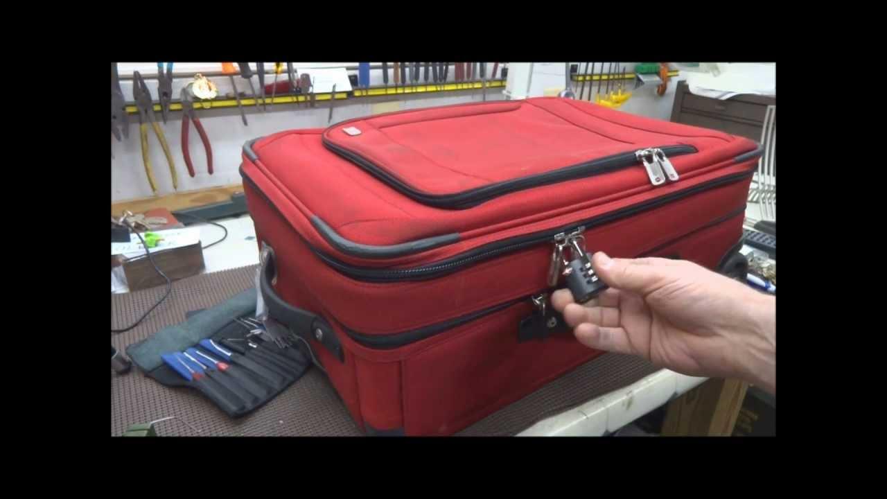 【衝撃動画】スーツケースはペン1本で開けられる!?