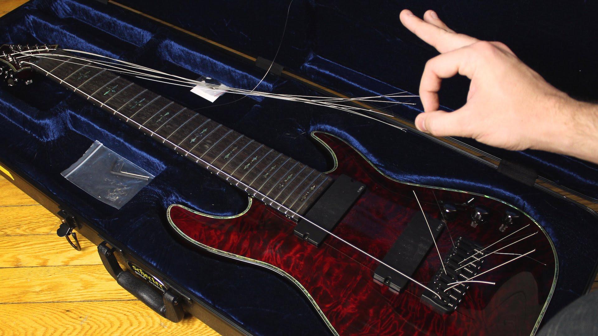 確かにそれっぽい……1本の弦でヘヴィメタルを演奏!