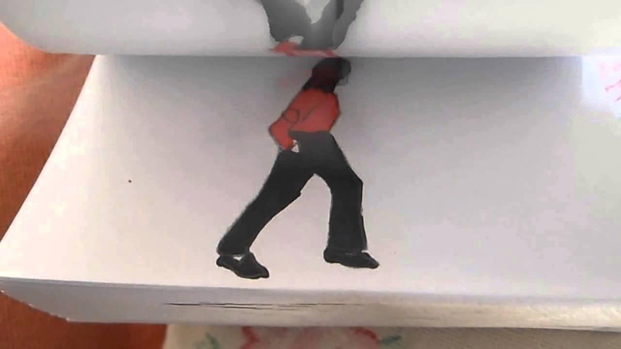 本当に踊っているみたい! マイケルジャクソンのパラパラマンガ