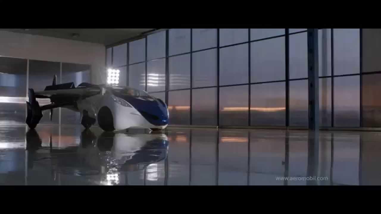 近い将来に発売されるかもしれない空飛ぶ車