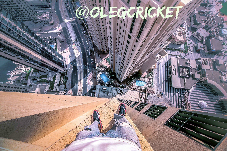 鳥肌モノ……高層ビルの上でのパルクールを主観視点で