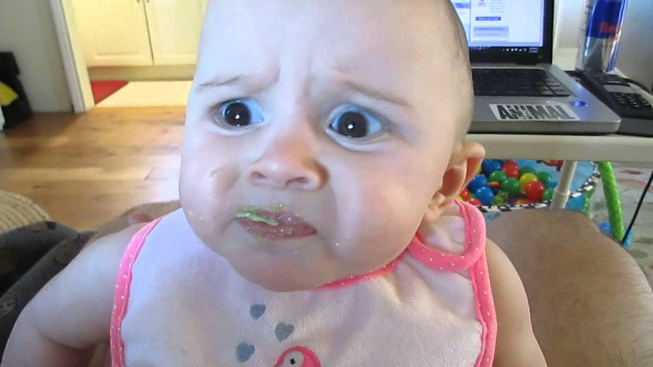 初めてアボガドを食べた赤ちゃんの表情が絶妙すぎる