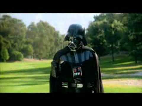 ダースベイダーと一緒にゴルフをするとこうなる