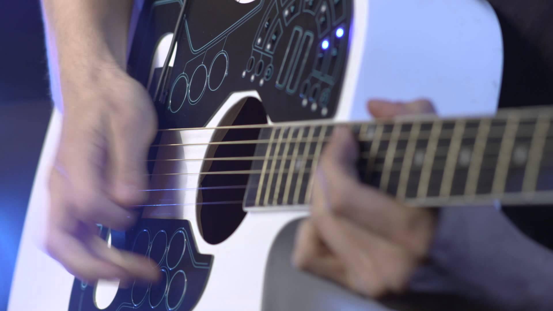 演奏の幅が無限大に! ギターに貼り付けるワイヤレスMIDIコントローラがCOOL!!