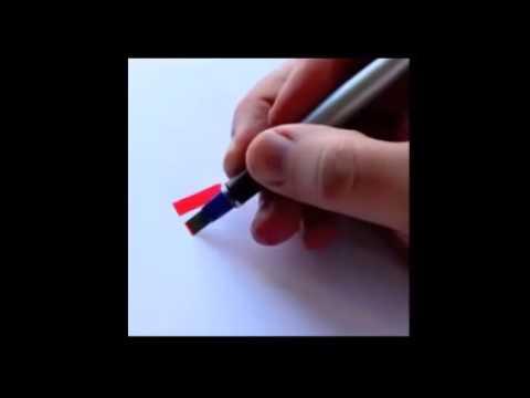 有名なロゴマークを手書きで再現する神技動画