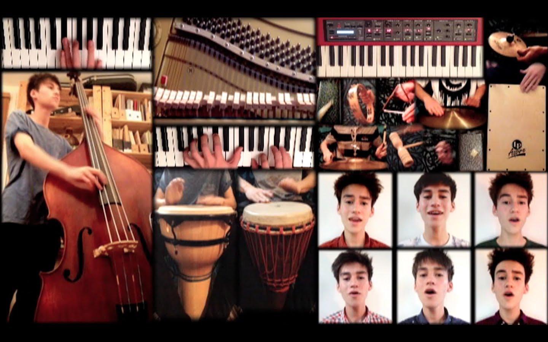 【これぞ天才】一人でアカペラ&楽器あわせて計26パートを多重録音。神業。