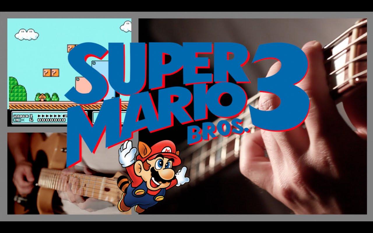 再現度高すぎぃ! スーパーマリオブラザーズ3を様々な楽器で再現!
