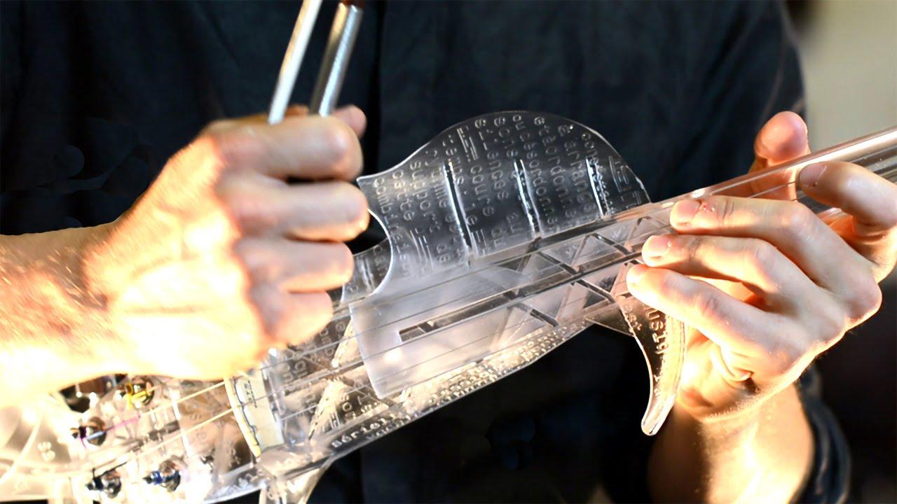 本物と遜色のない音色!? 3Dプリンタで作られたバイオリン