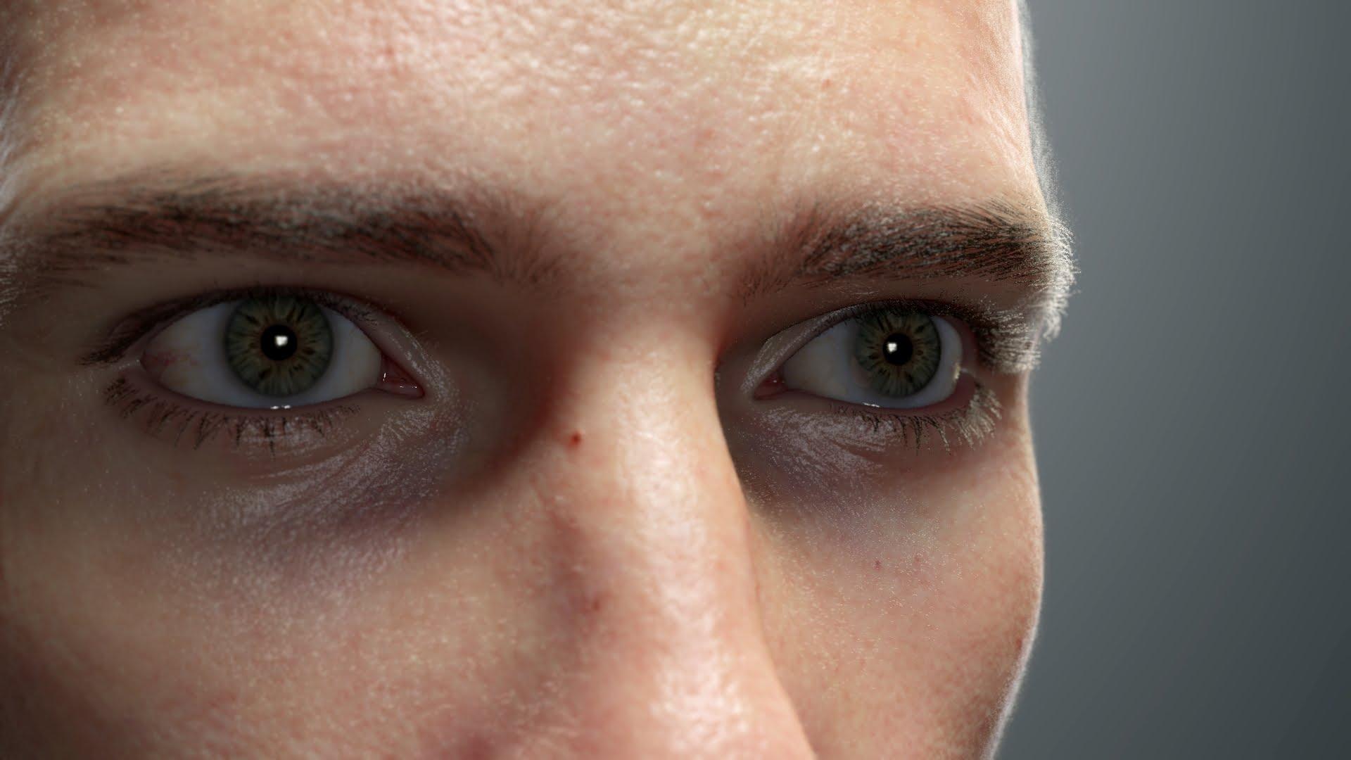 肌の質感がヤバイ! 精密すぎる3D映像