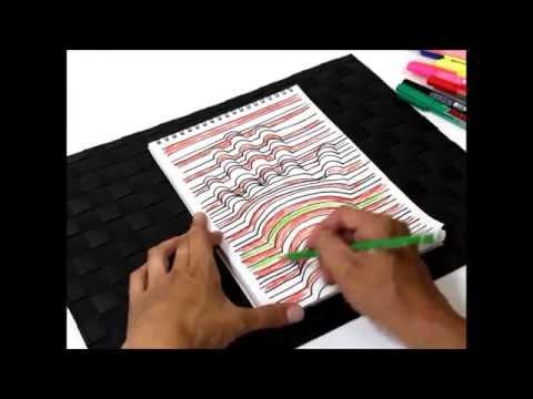これは凄い! 誰でも簡単に描ける3D絵画教室