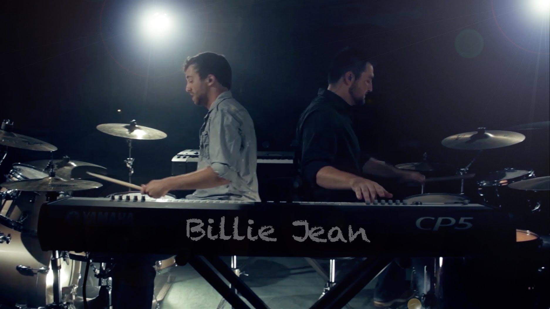 2台のドラムと2台のピアノ、2人で演奏するマイケル・ジャクソン「ビリージーン」が凄い!