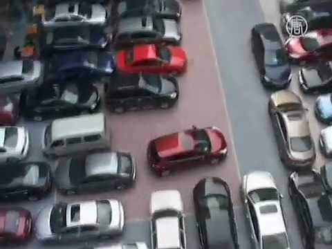【驚き動画】マジ?驚きの中国駐車場事情!!
