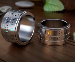 腕時計ならぬ指時計がスタイリッシュすぎる!