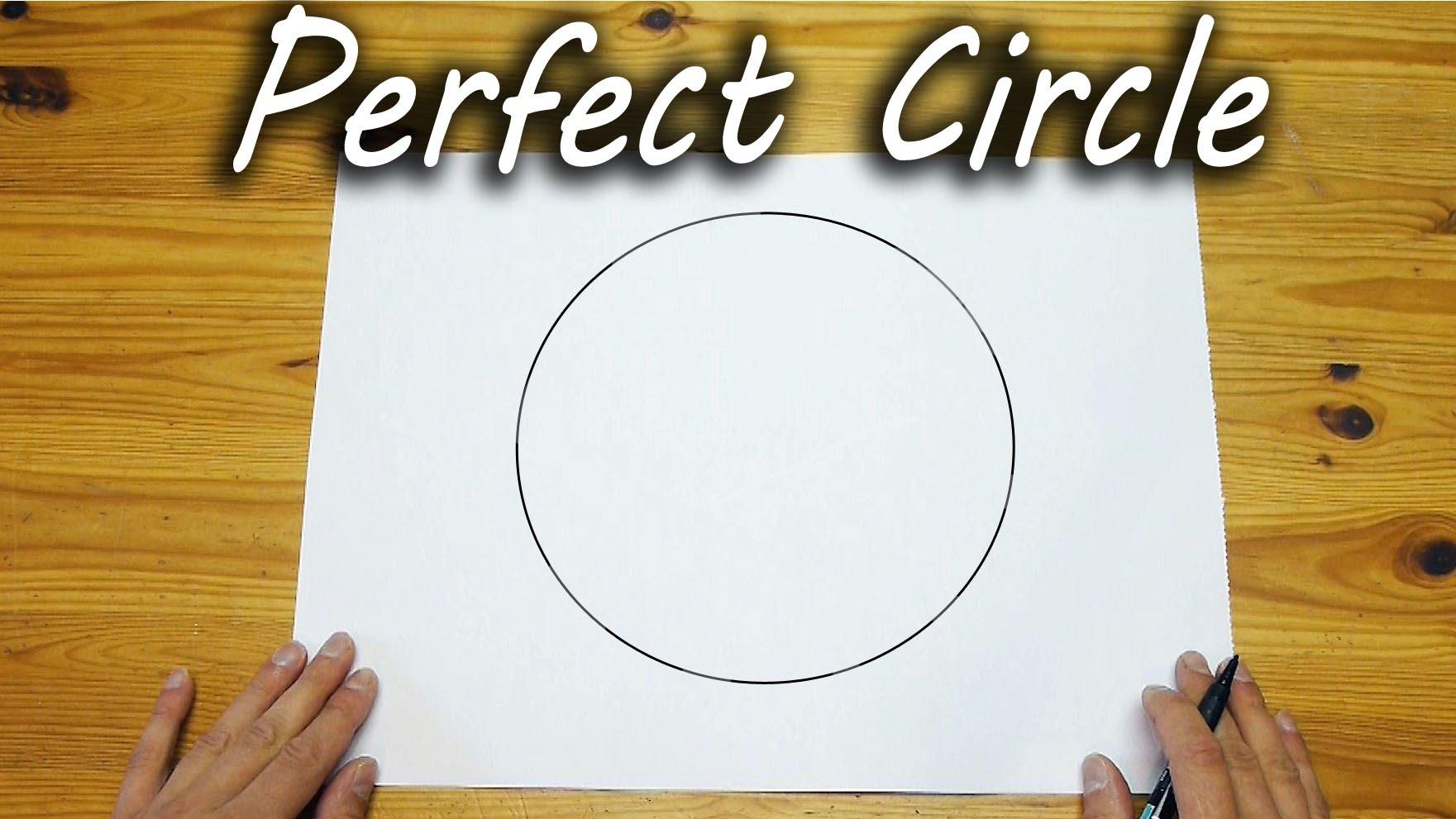 フリーハンドで円を描く画期的な方法