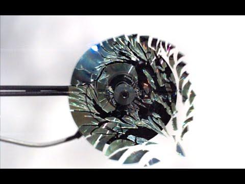 CDを100倍速で回すとどうなるのか実験!