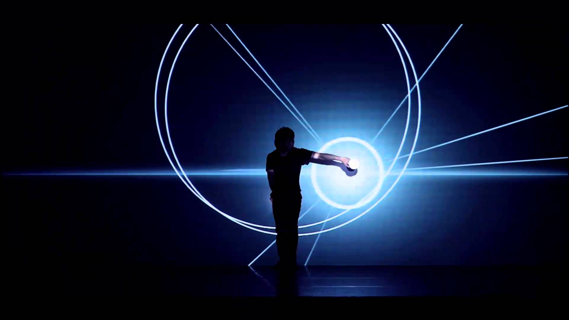 CG技術をパフォーマンスに組み込んだ神技動画