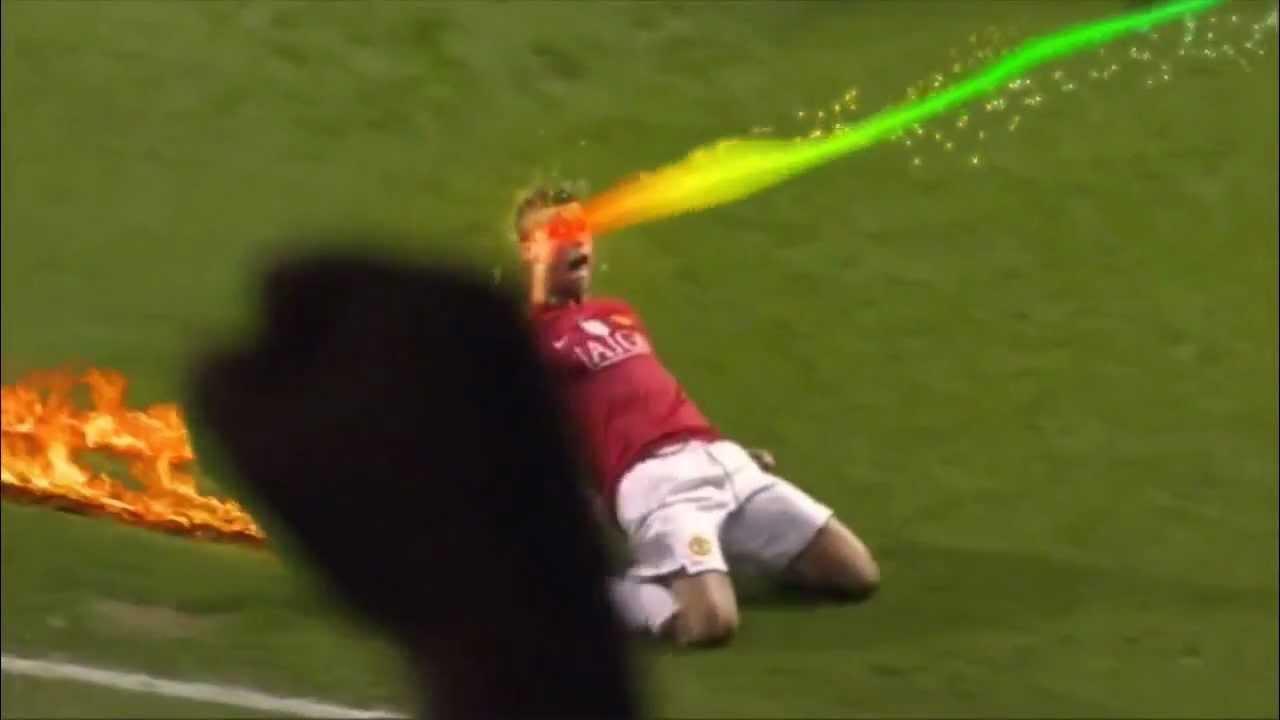 【サッカー動画】ゴールパフォーマンスがCGでおもしろ映像になっちゃった