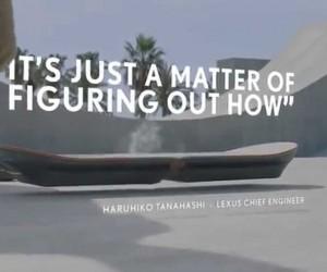 高級車ブランドのLexusがホバーボードの動画を公開!