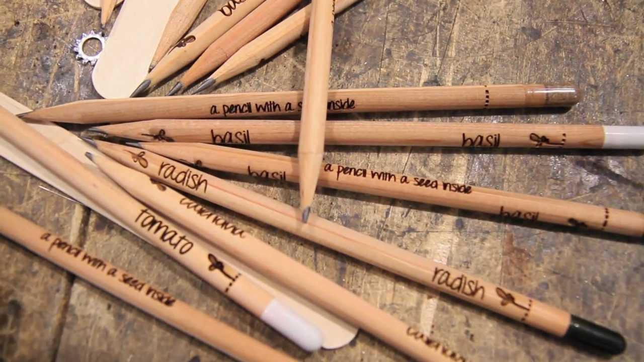 鉛筆で植物が育つ「Sprout Growing Pencils」が凄い