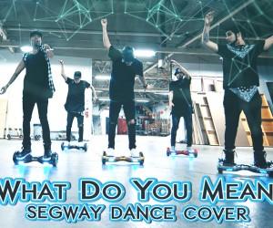セグウェイ+ダンスの融合がクール!