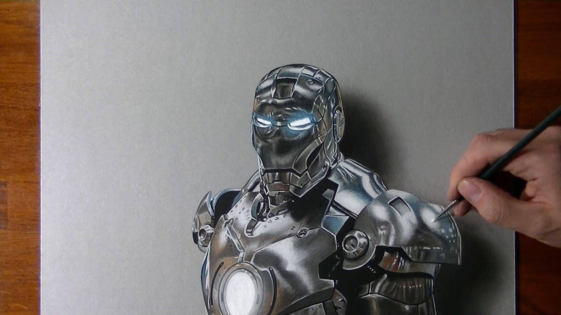 リアルすぎるアイアンマン。実はこれ絵なんです