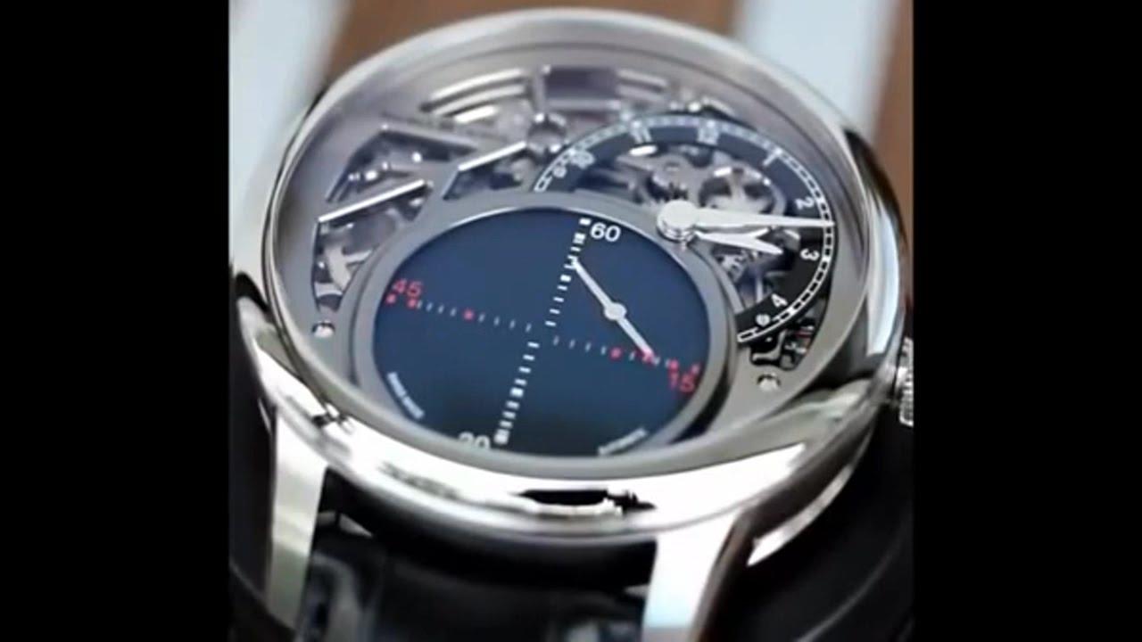 ギミック満載な腕時計の動きが面白い動画