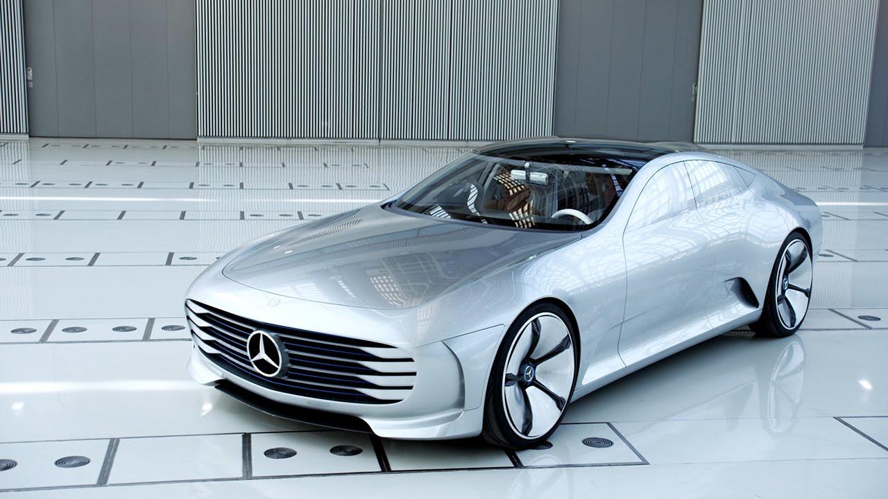 メルセデスベンツの最新モデルがSF風で格好良い!!