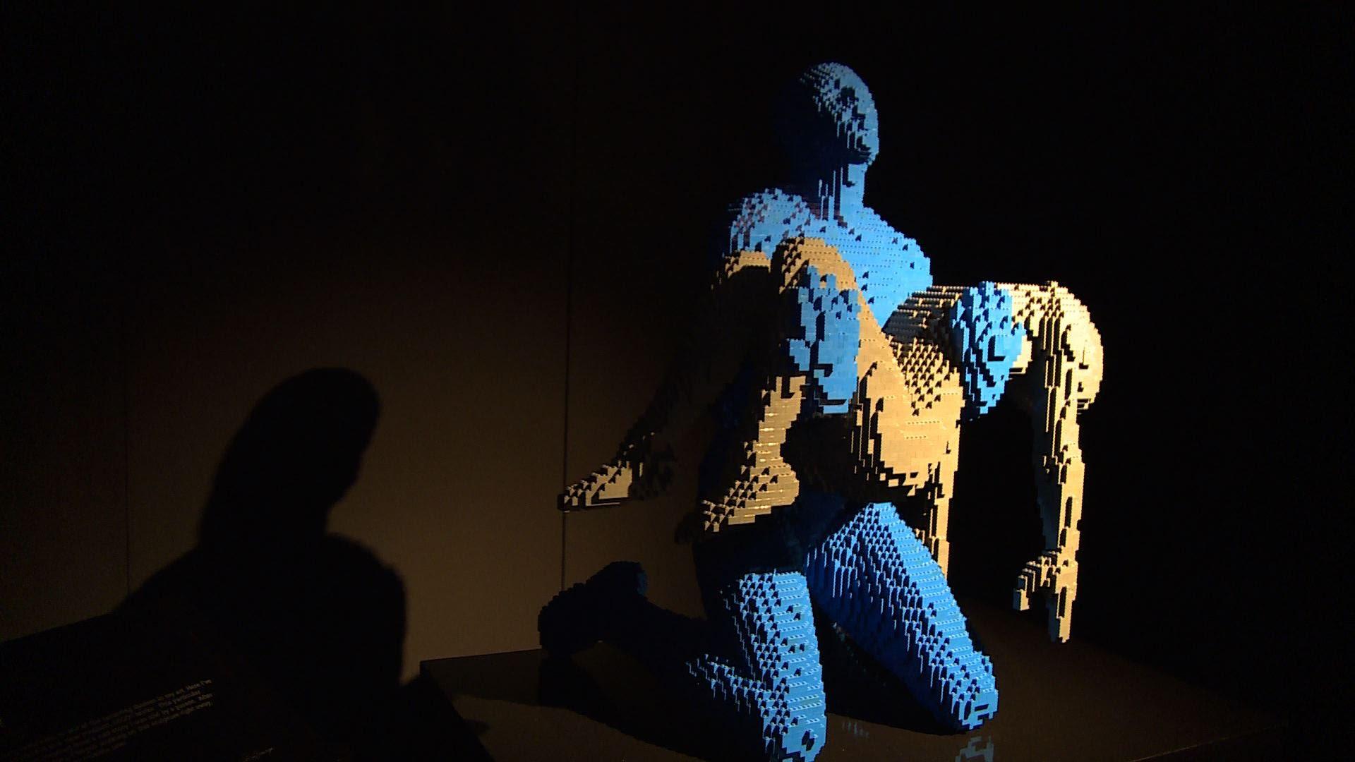 もはやアートの領域、レゴブロックの芸術展