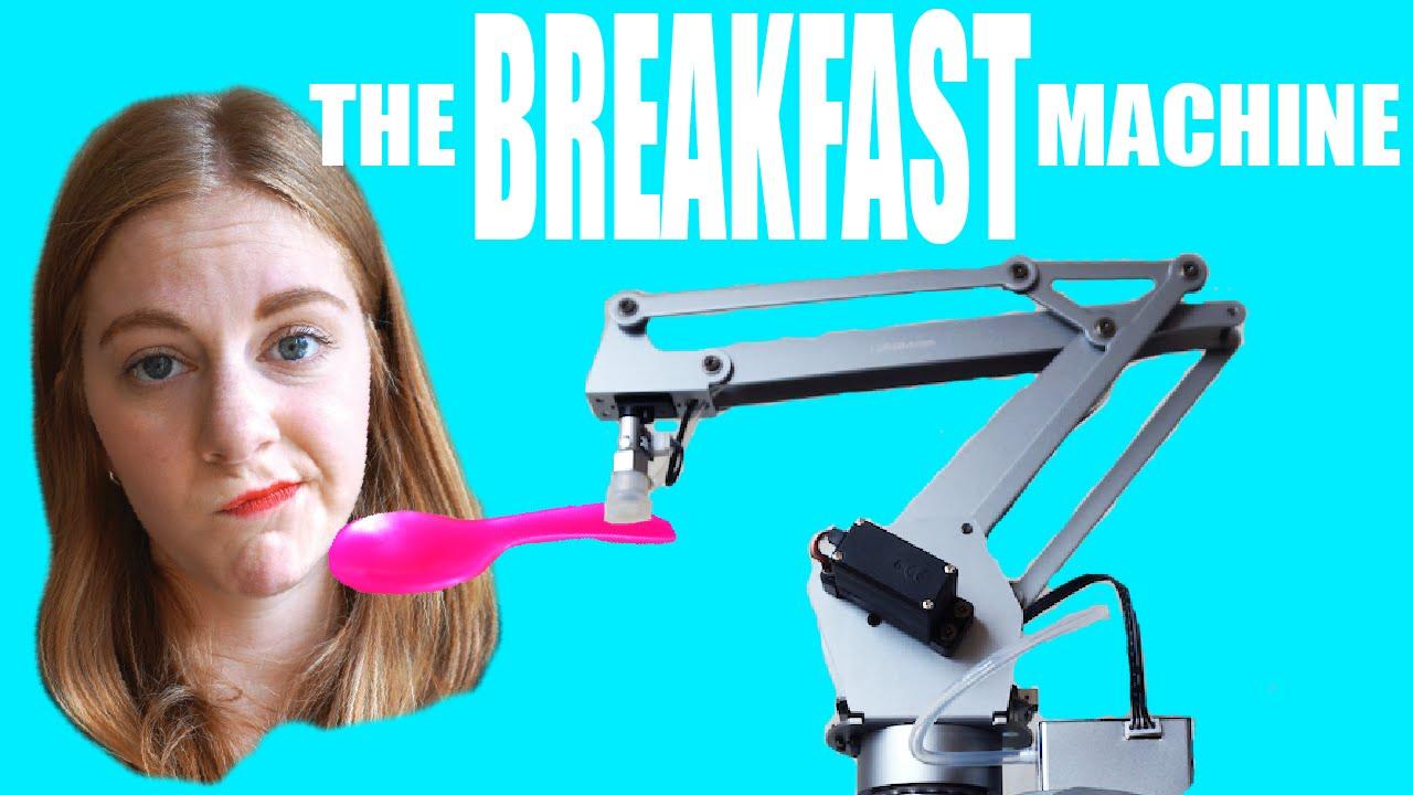 仕事雑すぎぃ! 全自動朝食マシンの動きが適当すぎる!