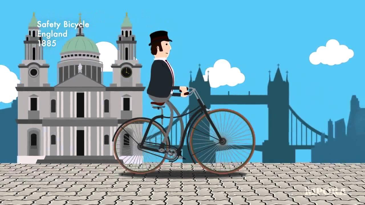 へぇ~となる自転車の歴史を1分にまとめた動画