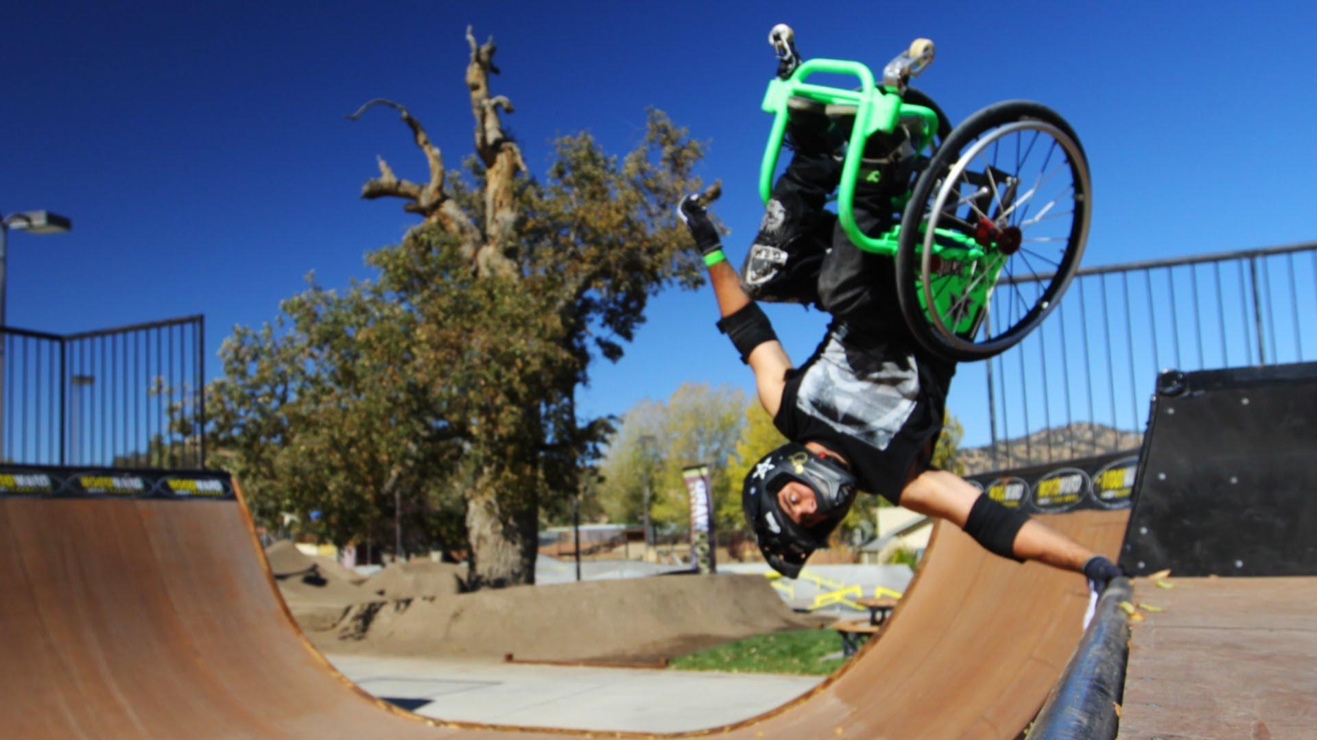 フリースタイル車椅子がエキサイティング!