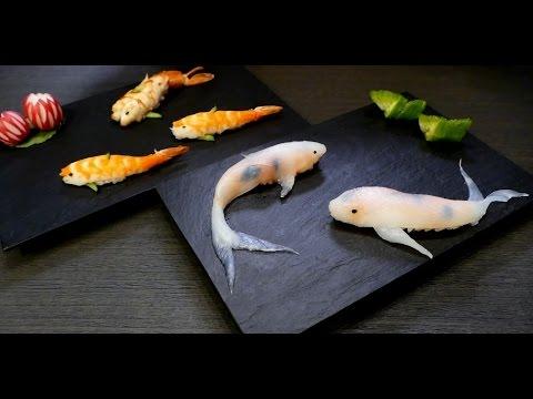 綺麗だけどちょっと食べづらい? 鯉寿司の作り方