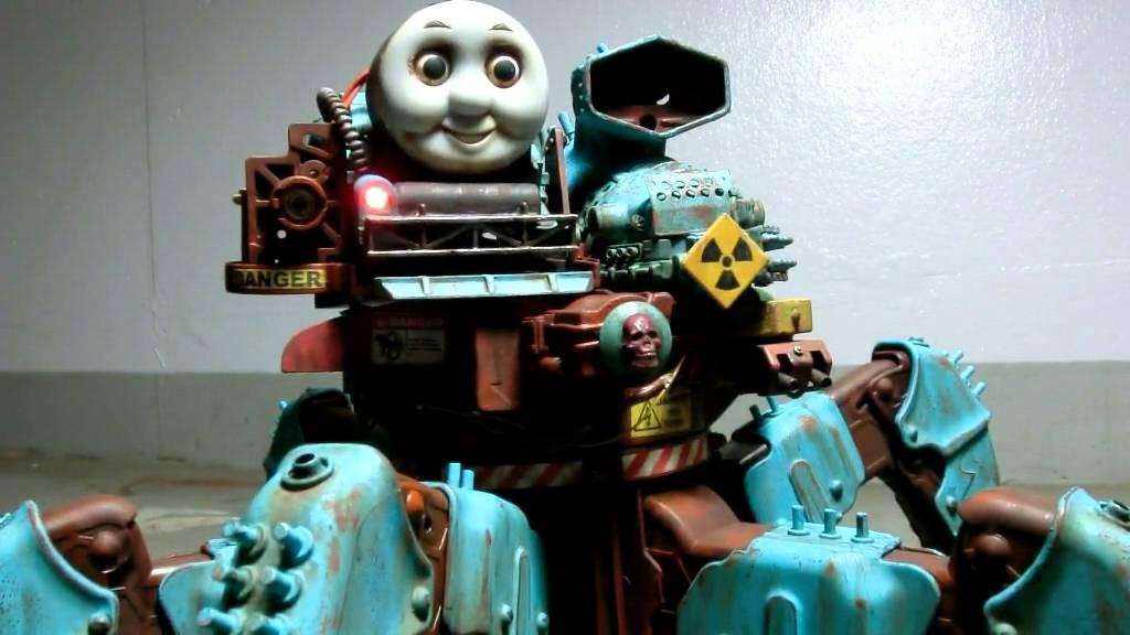 夢に出てきそう……レーザー搭載の多脚機関戦車トーマス