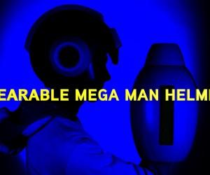 これで貴方もロックマンに! ちゃんとかぶれるロックマンヘルメット