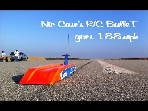 速過ぎて見えない、時速300km越え世界最速のラジコンカー