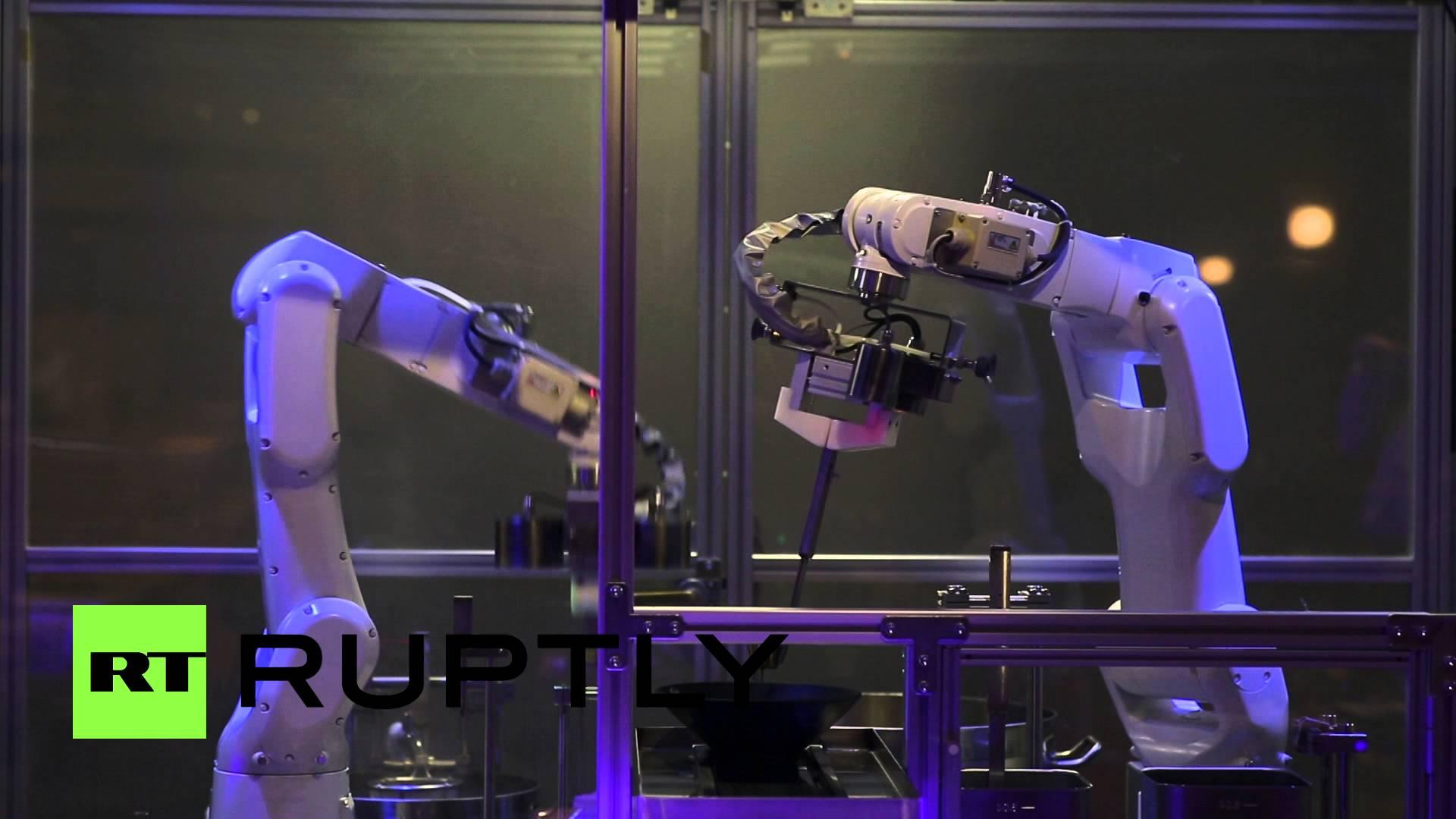 普通に美味しそう、90秒でラーメンを作るロボット