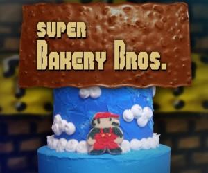 これはすごい……マリオワールドの1面をケーキで再現