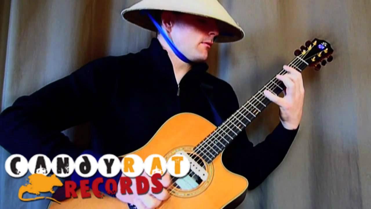 アコースティックギター1本でトランスを演奏する神技