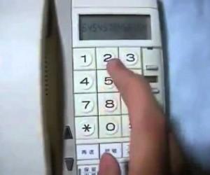 すごいんだけど笑ってしまうw 電話機でルパン三世のテーマを演奏