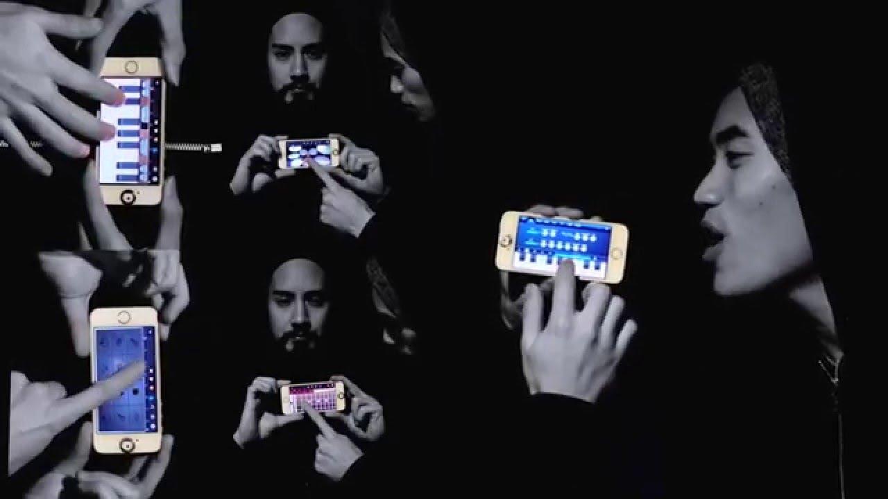 何だかテクノっぽい、iPhoneを複数台使って演奏