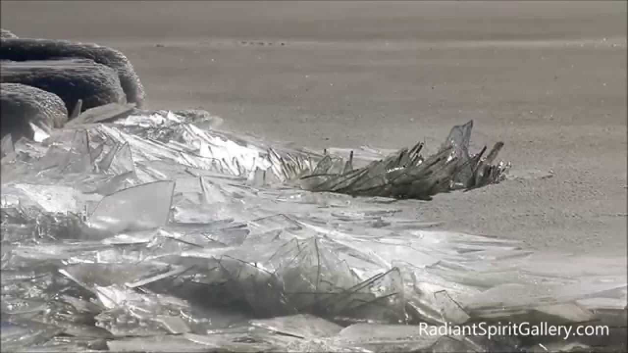 スペリオル湖の氷点下時の景色が絶景