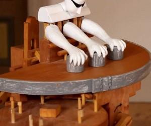 どれだけ見てもタネが分からない、マジックロボット