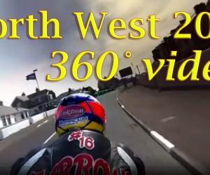 バイクで時速300km越えの世界を360度撮影