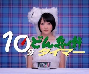 乃木坂46・生駒里奈が1本のうどんを10分かけてすすり続ける姿がシュール可愛いすぎる