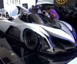 最高速度560km/hの車「Devel Sixteen」が超絶格好良い!